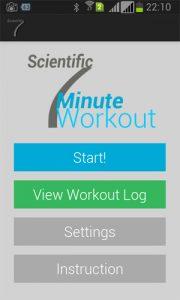 Scientific 7 Minute Workout App by App