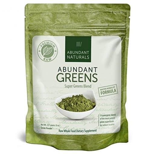 abundant Greens powder