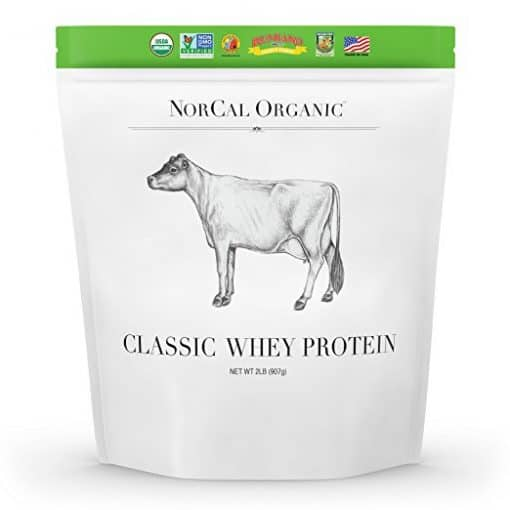 organic whey protein powder is best used after a hard workout