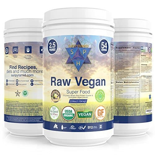 the best vegan protein to get results! sun pyramid review