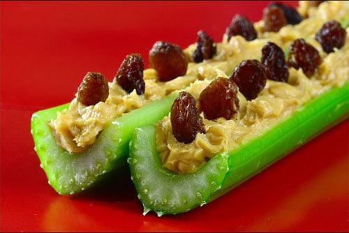 Celery Peanut Butter Boat