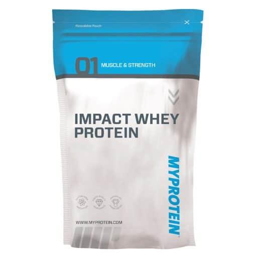 myprotein impact whey only has around 100 calories