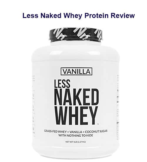 Less Naked Whey Protein Review