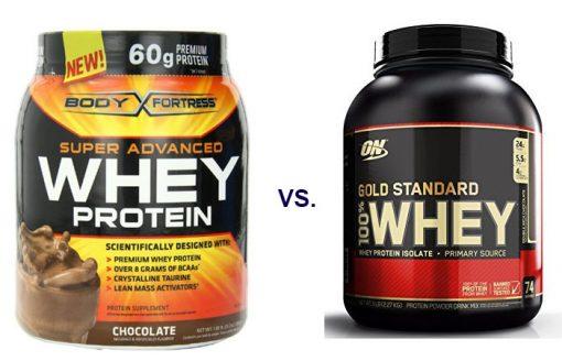 Body Fortress Whey vs Gold Standard Whey