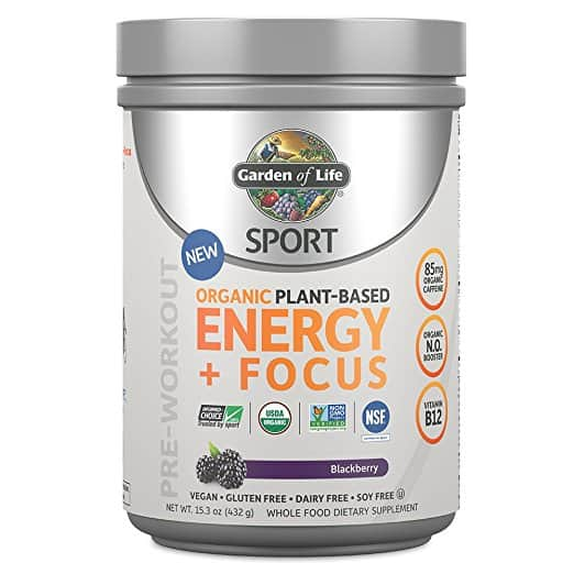 garden of life energy and focus review: is this organic plant-based pre-workout worth it
