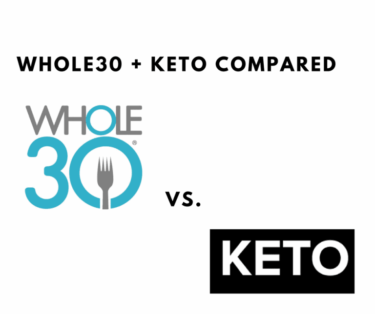 whole30 vs keto compared – differences, similarities, and more