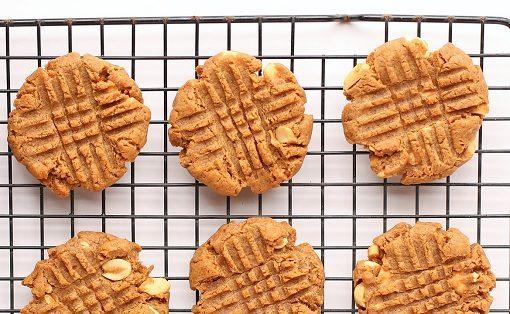 Flourless Nut Butter Cookies