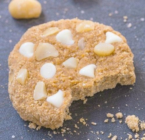White Chocolate and Macadamia Protein Cookies
