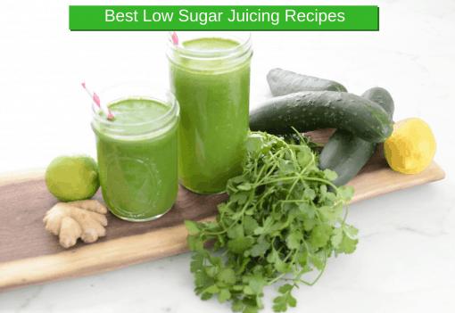 best low sugar juicing recipes