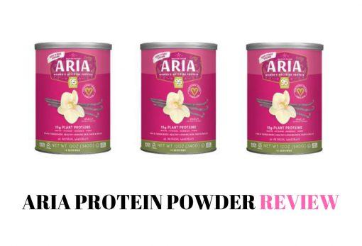aria protein powder review