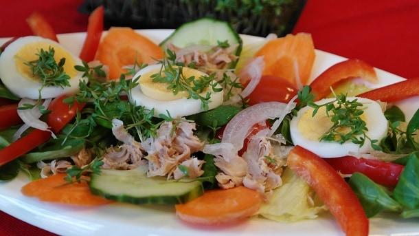 clean tuna salad