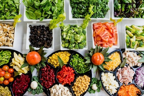 keto zone diet fruits and vegetables