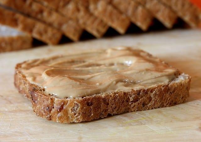 nut butter on bread