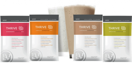 thrive mix shakes by le vel