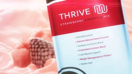 thrive strawberry mix