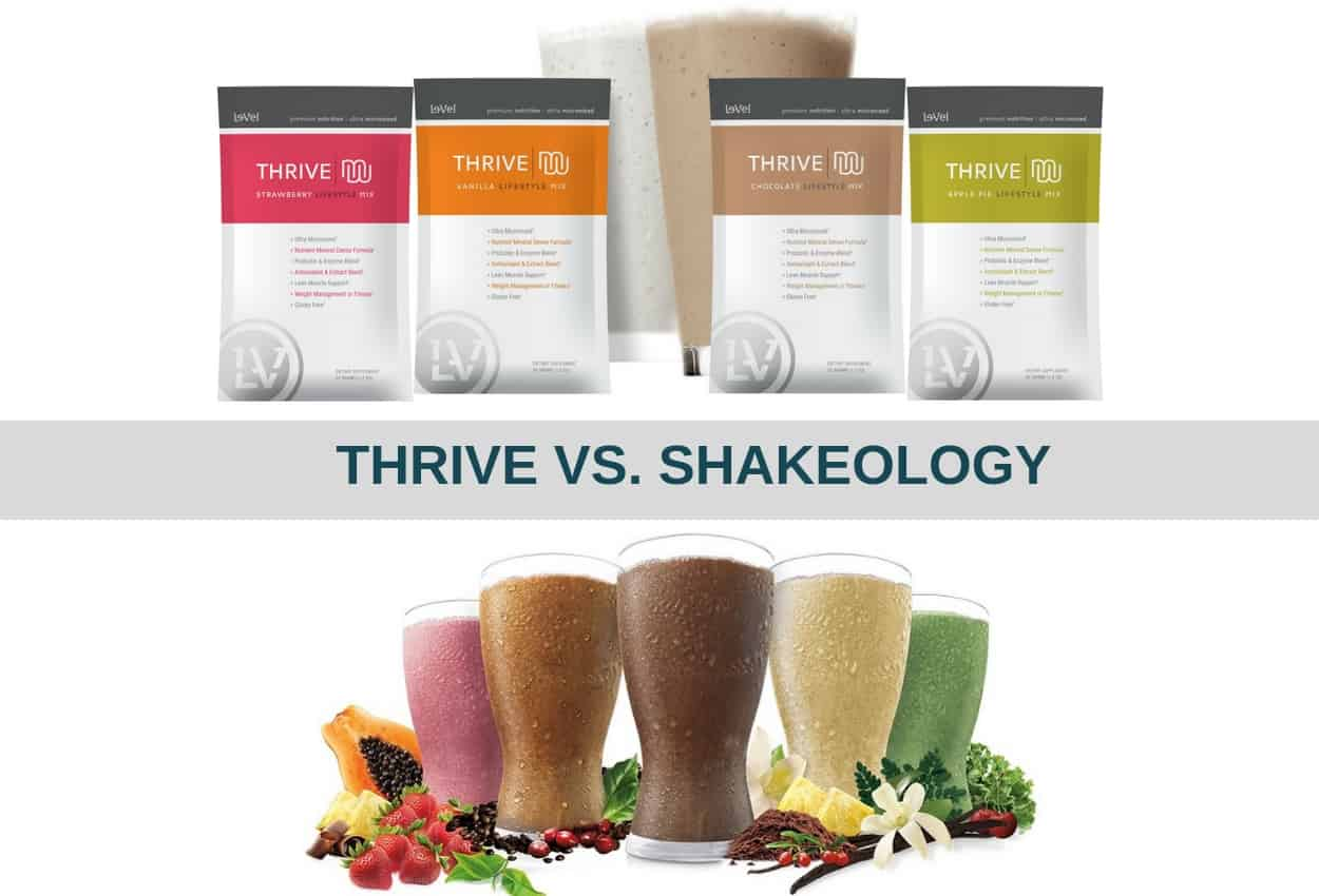 Thrive Shakes Vs Shakeology Which Is The Best For You Alt Protein