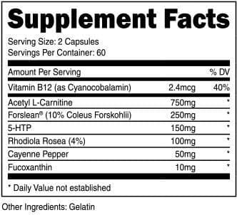 Physiqueseries Fat Burner stem-free