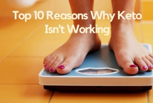 why am i not losing weight while in ketosis
