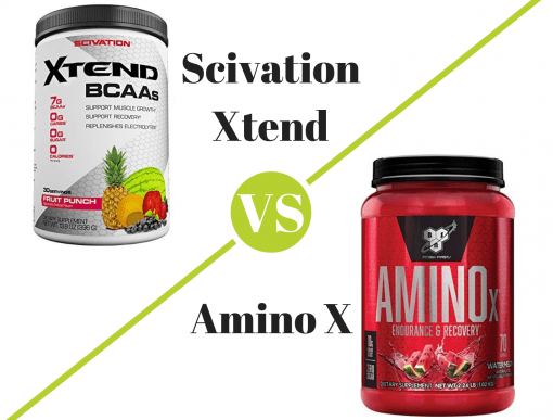 Scivation Xtend vs Amino X