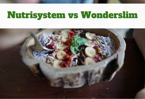 Nutrisystem vs Wonderslim
