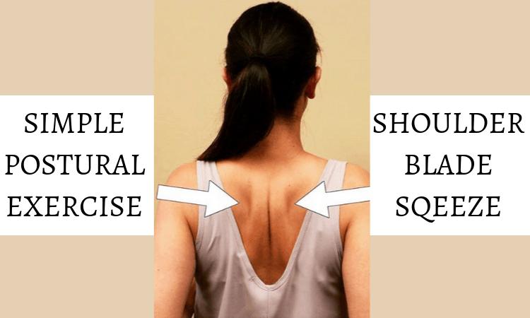 shoulder blade squeeze
