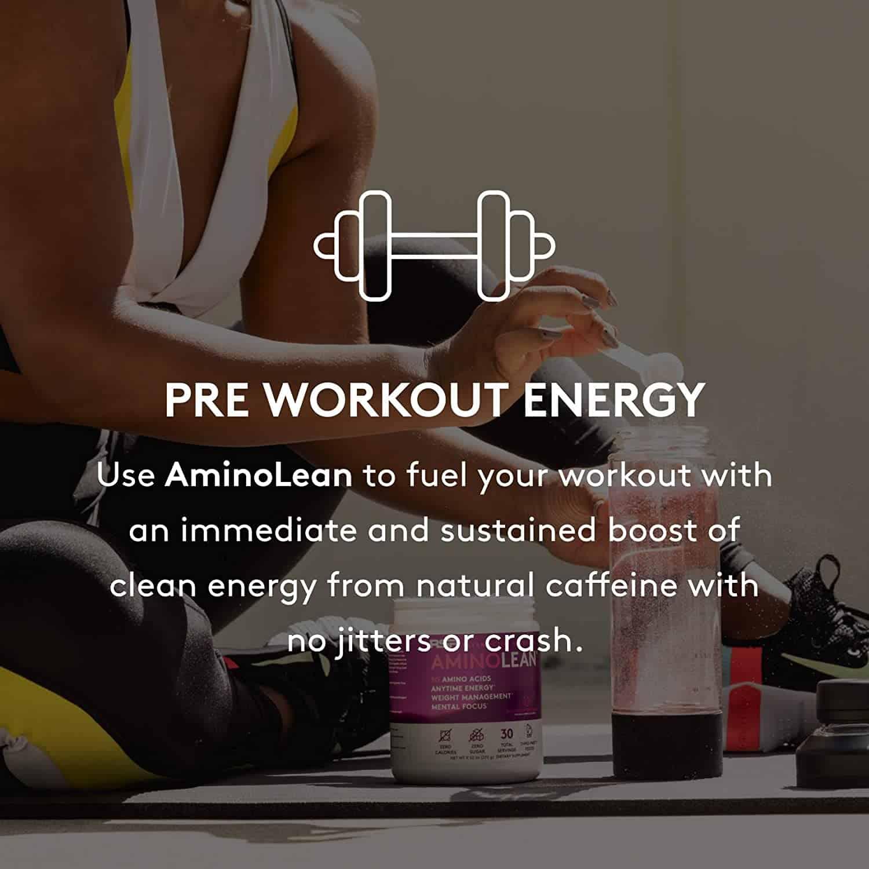 rsp aminolean preworkout energy