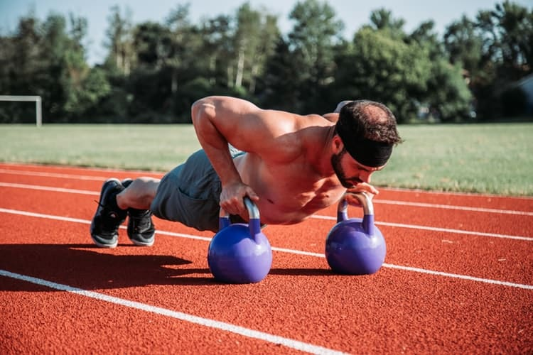 kettlebells strenght training
