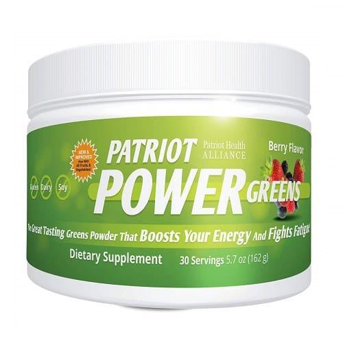 Patriot Power Greens: Organic Superfood