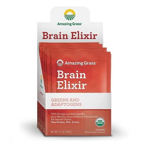 Amazing Grass Brain Elixir Supplement