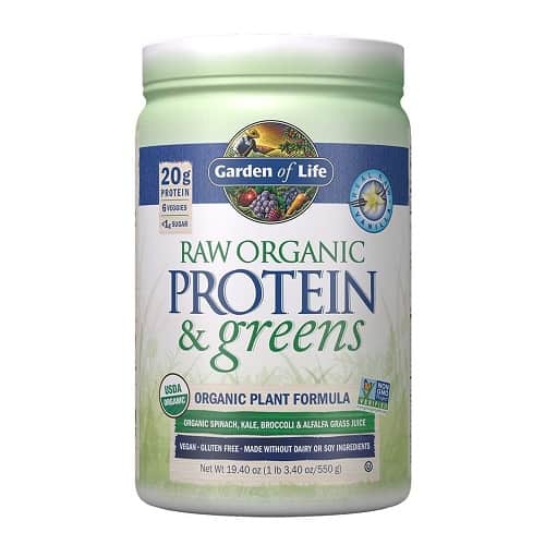 Garden of Life Raw Organic Protein and Greens | Amazon