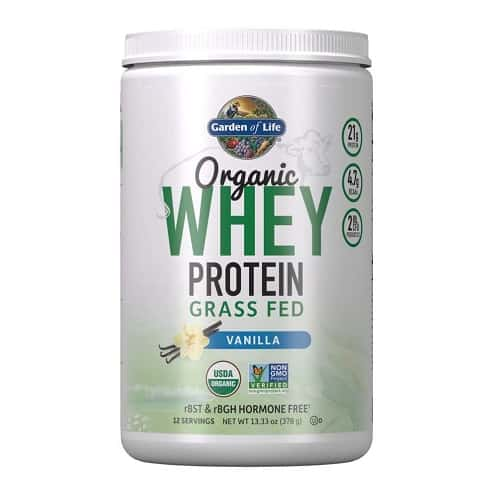 Garden of Life Certified Organic Whey Protein