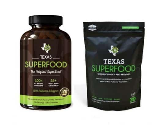 Texas SuperFood Original Capsules and Powder | Texas Superfood