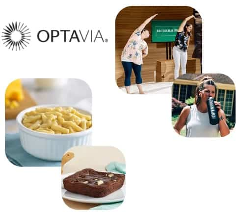 The life you want is waiting, all you have to do is take the first step   Optavia